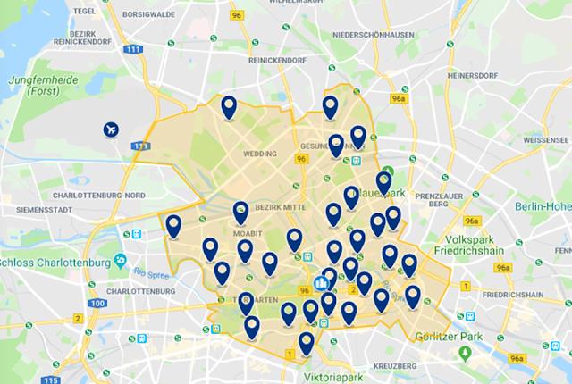 Melhor região para se hospedar em Berlim