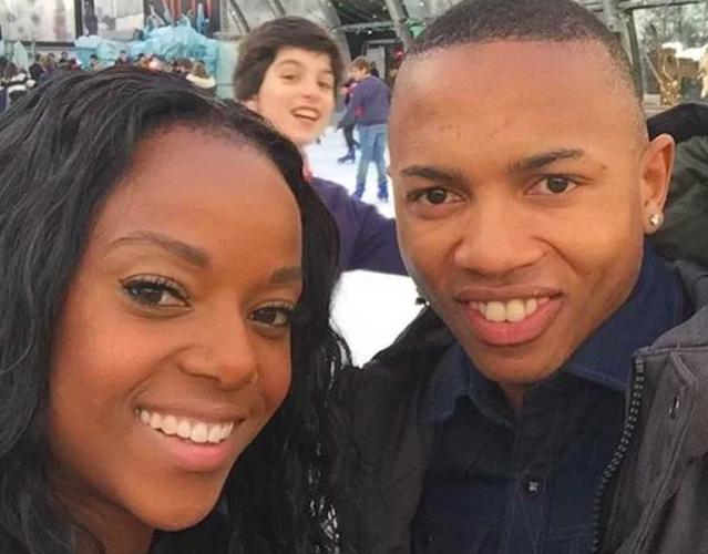 Andile Jali and  Nonhle Ndala