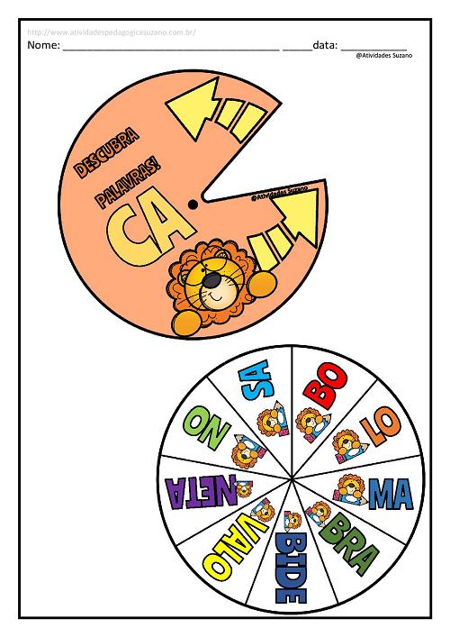 Alfabetização, letramento, formação de palavras