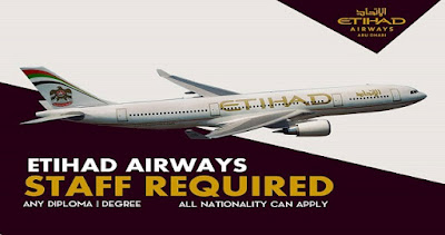 New Jobs At Etihad Airways Abu Dhabi