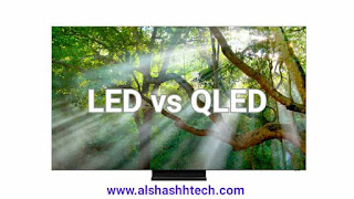 The difference between LED and QLED screens, with comparison and an explanation of which is better