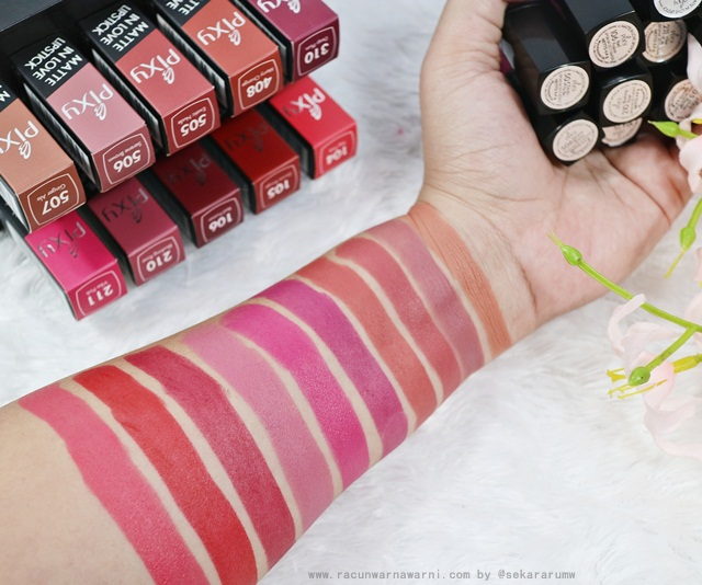 Swatch All Shade Pixy Matte In Love