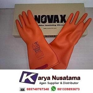 Jual Novax Electrical Gloves Class 5000KV Untuk PLN di Malang