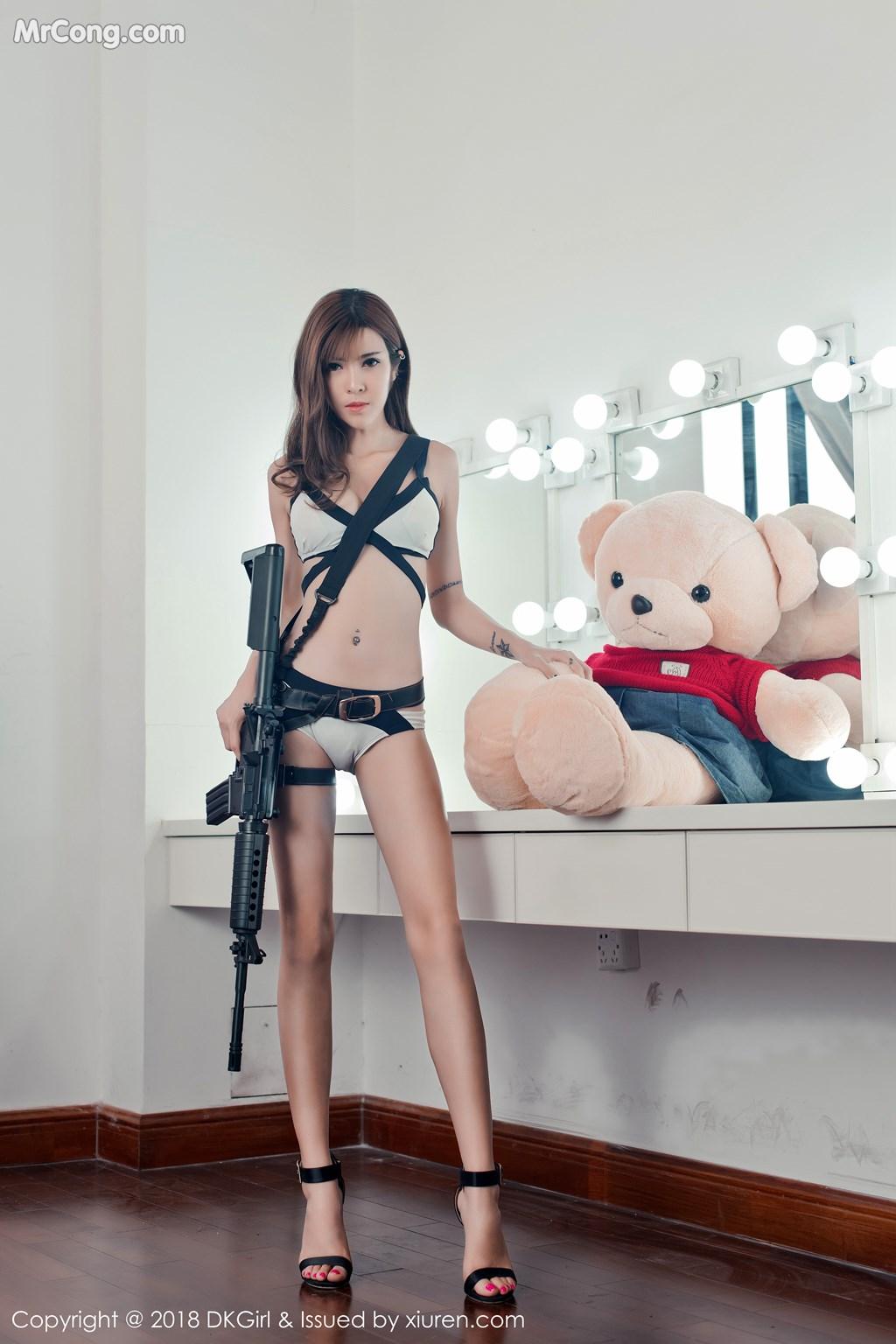 Image DKGirl-Vol.065-Cai-Le-Er-MrCong.com-001 in post DKGirl Vol.065: Người mẫu Cai Le Er (蔡乐儿) (50 ảnh)