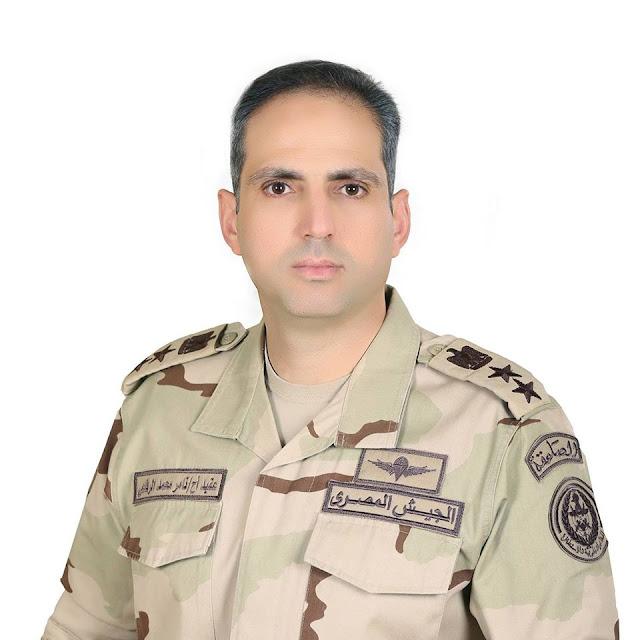 من هو المتحدث العسكري للقوات المسلحة المصرية  تامر محمد محمود الرفاعى.. تعرف علي سيرته كاملة