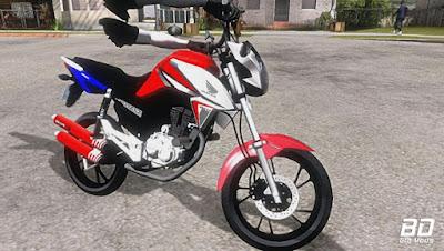 Download mod moto Fan 160 com braço para GTA San Andreas . GTA SA , Jogo PC