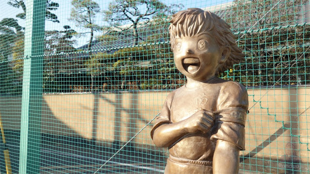 Patung Tsubasa di Katsushika