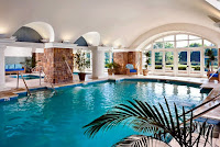 large in-house swimming pool