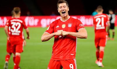 Lewandowski Bayern Munich delantero