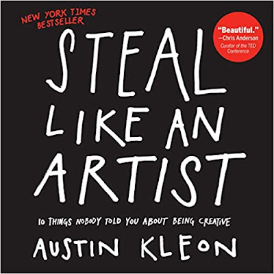 book cover: Steal Like an Artist