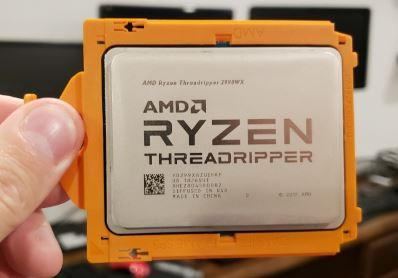 AMD Ryzen Threadripper 2990WX Processor 6GHz overclocked (32 cores