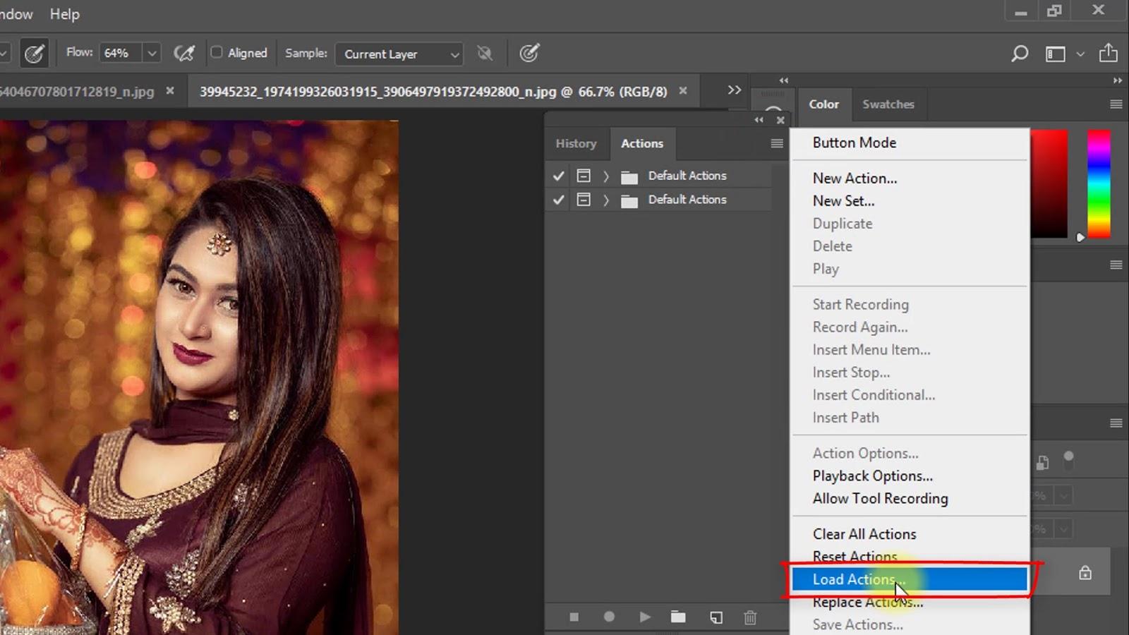 Cinematic Color Grading Effect Screenshot 2