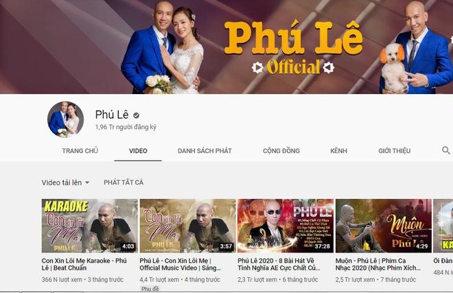 'Giang hồ mạng' Phú Lê thường xuyên rao giảng đạo lý trên YouTube