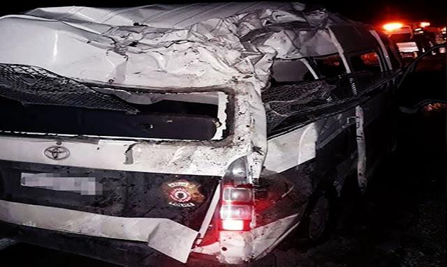 رادس وفاة أمني وإصابة آخر في إنقلاب سيارة