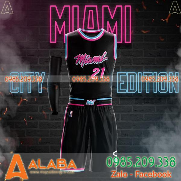 Mẫu áo bóng rổ Miami Heat bán chạy