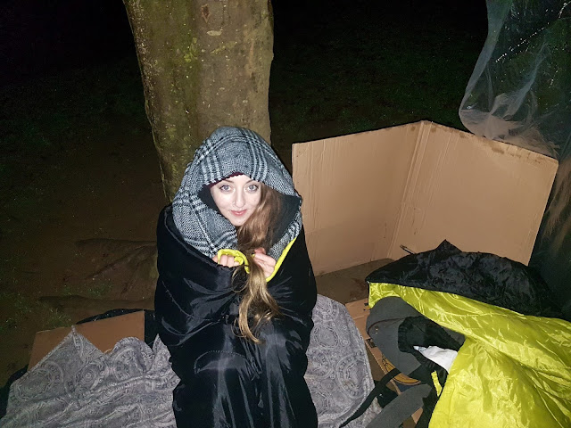 Big Sleep Out 2017 - The Northampton Hope Centre, Homeless Charity.