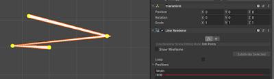 Line Renderer Edit Mode