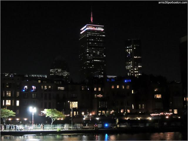 Iluminación del Prudential del Día de la Independencia de Estados Unidos