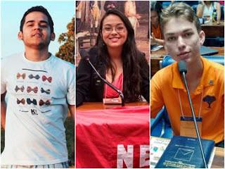 Jovens nem chegam aos 20, mas entram na política e têm esperança de mudar o país