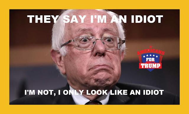 Memes: Bernie Sanders THEY SAY I'M AN IDIOT