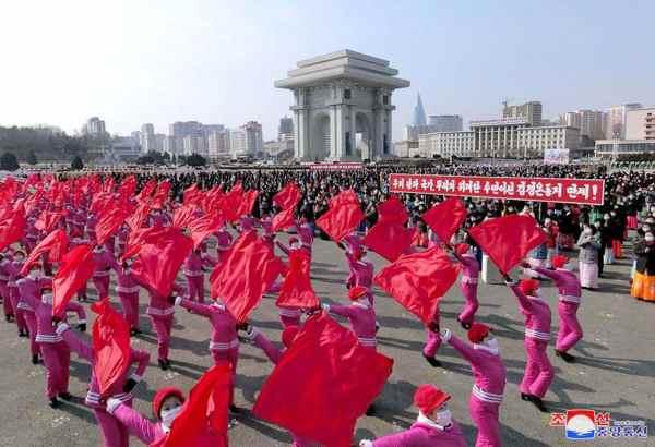 DPRK Women Pledge Meeting