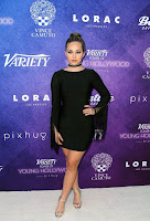 Brec Bassinger best red carpet dresses