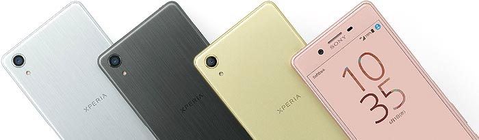 XPERIA X Performance カラバリ 全4色