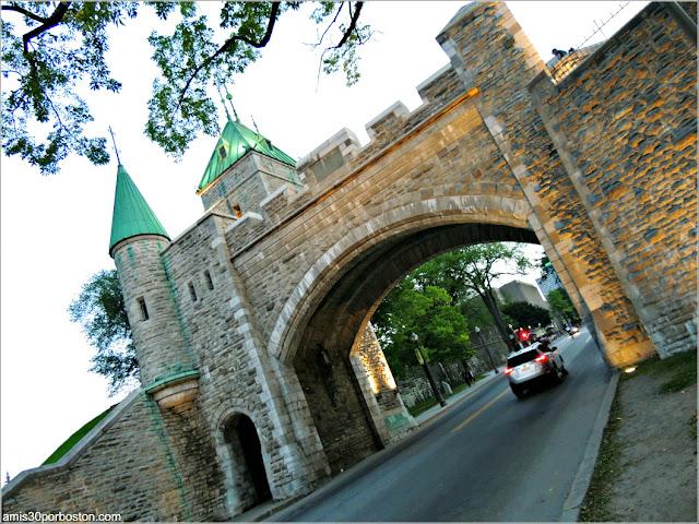 Puerta de San Luis en Quebec