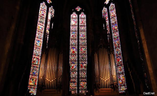Choeur et orgues de l'église Saint Bonaventure à Lyon