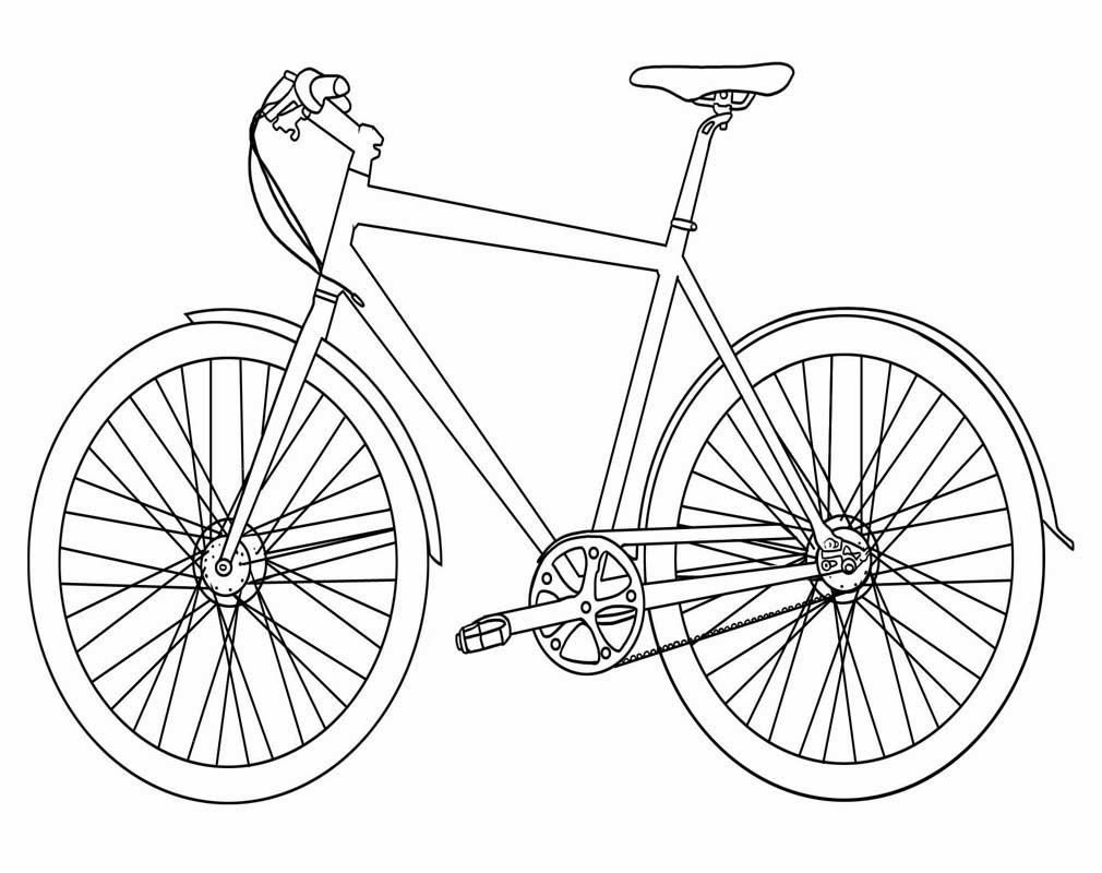 Gambar sketsa sepedah 28 images mewarnai gambar sepeda