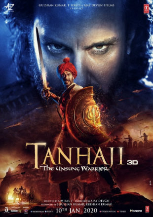Tanhaji: The Unsung Warrior 2020 Full Hindi Movie Download