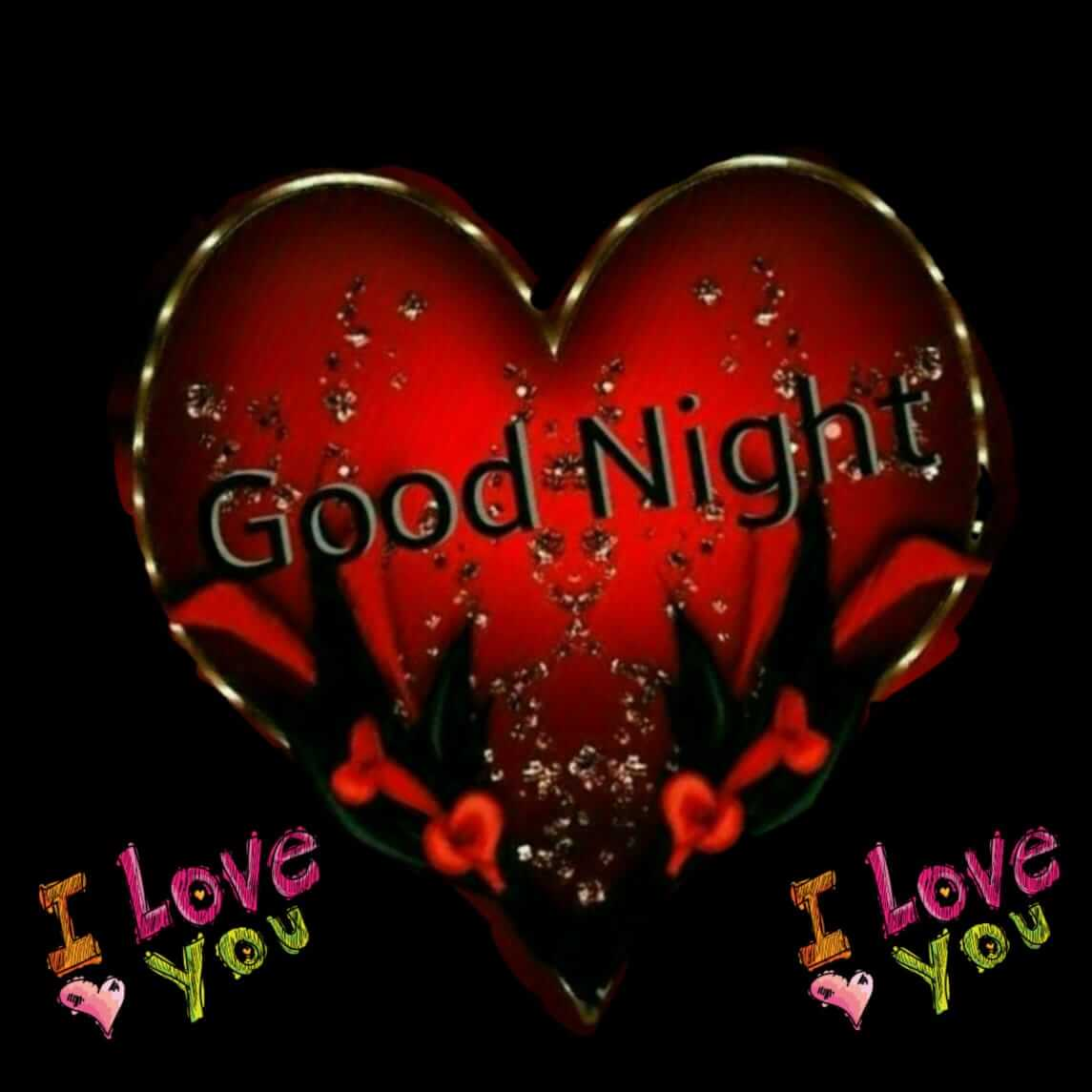 Good Night Heart Images For Love