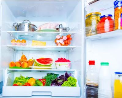 Suhu di dalam Kulkas