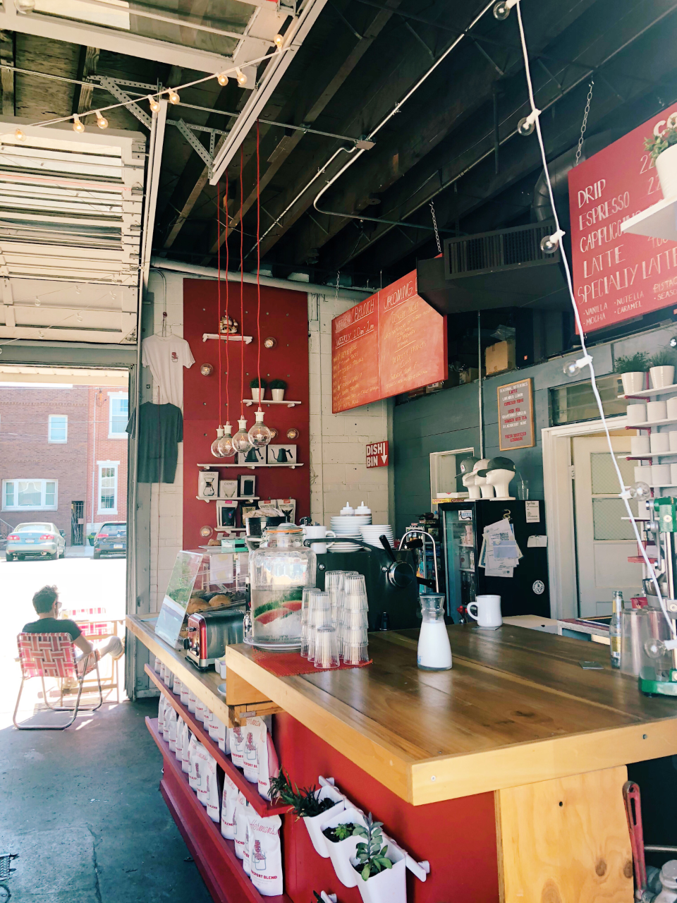 Herman's Coffee in Pennsport | Organized Mess