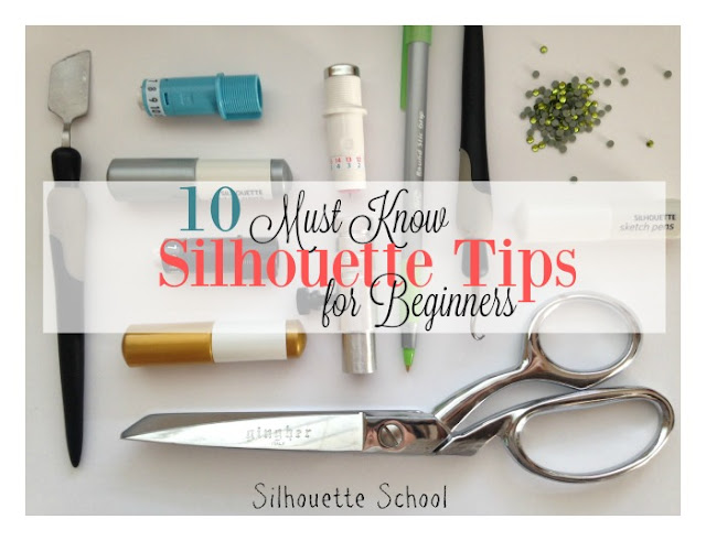 Silhouette Cameo, Silhouette Portrait, beginners, must know, Silhouette tutorials