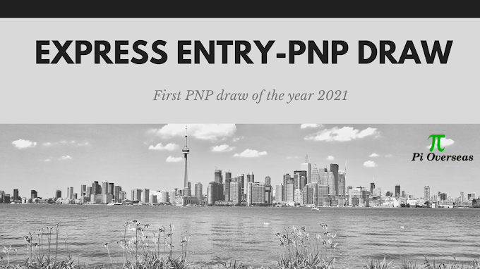 Provincial Nominee Program (PNP) Draw- 2021