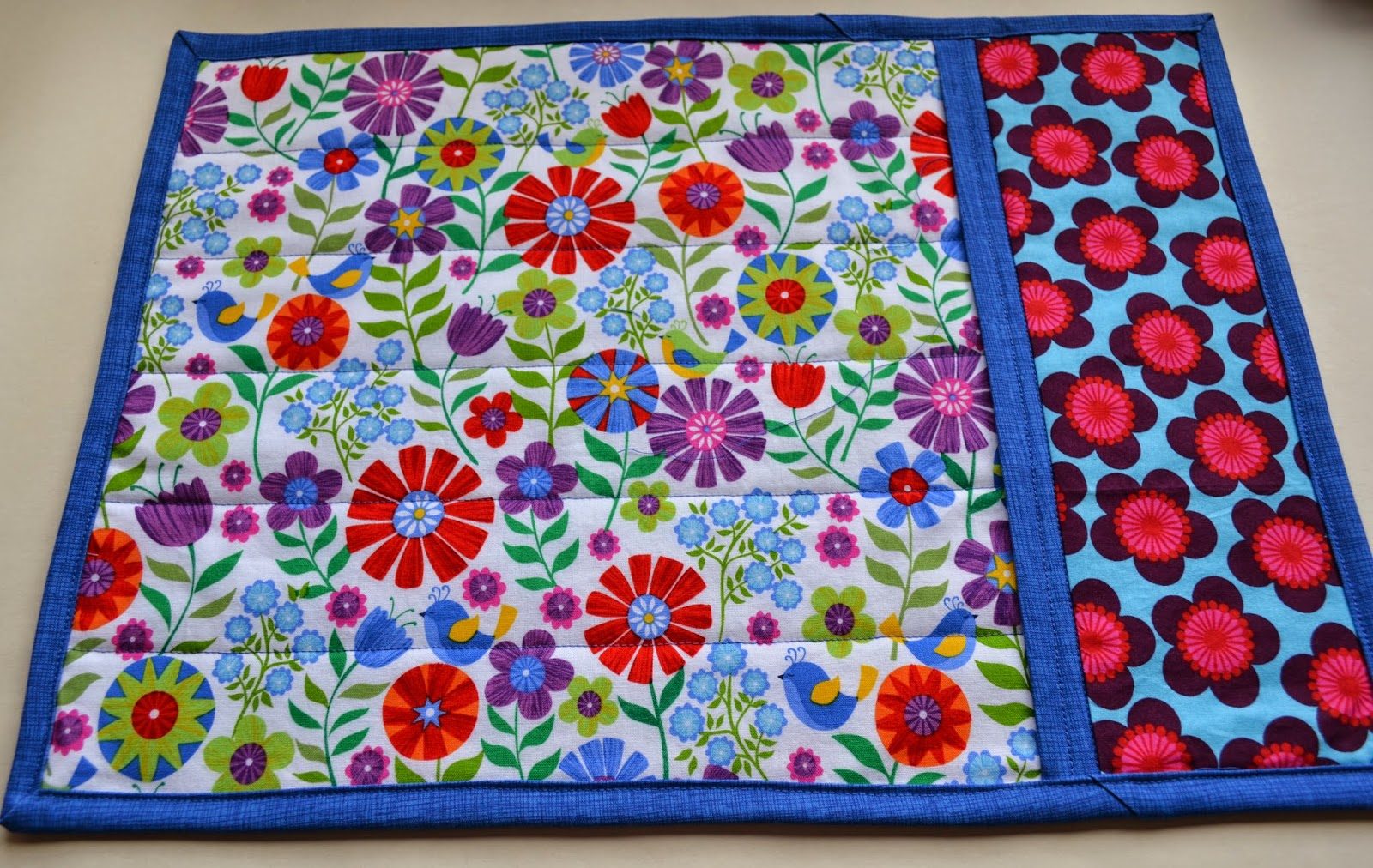 Run N Stitch Quilted Placemat Tutorial