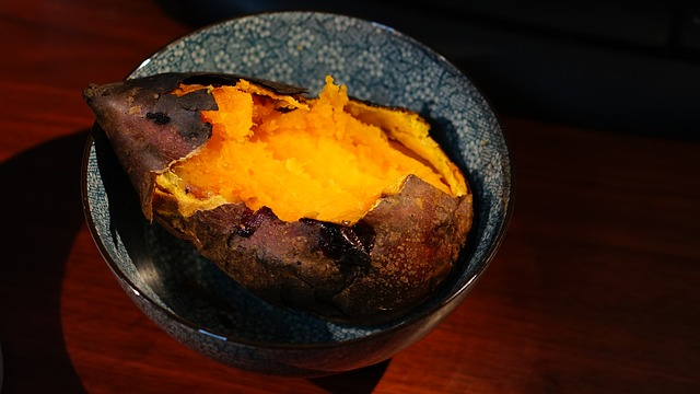 Sweet potato baked