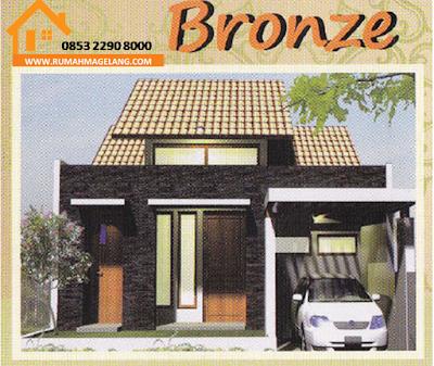 Rumah elite murah harmoni residence tipe 53 di magelang