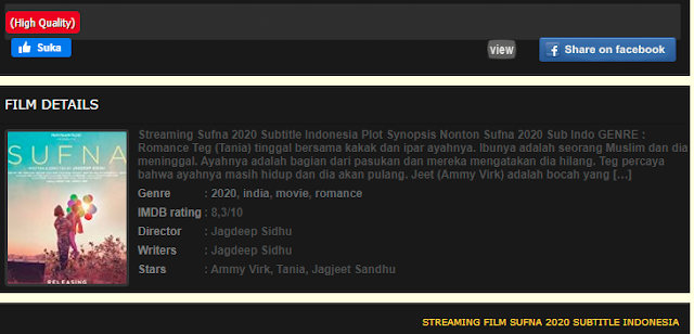 Nonton Film Sufna (2020) Sub Indo Full Movie Terbaru 2021