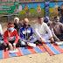 राष्ट्रीय किसान मोर्चा के सदस्यों ने कानून रद्द करने को लेकर किया धरना प्रदर्शन