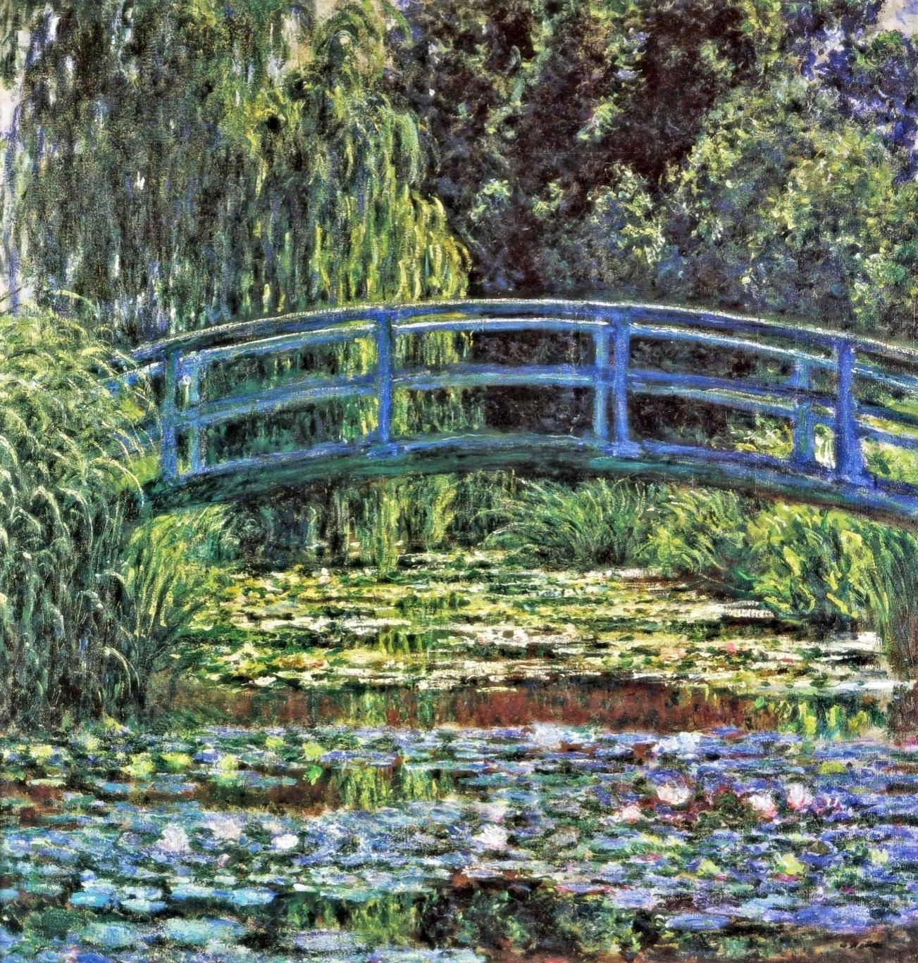 Monet my garden is my most beautiful masterpiece part 2 tutt 39 art - Le bassin aux nympheas ...