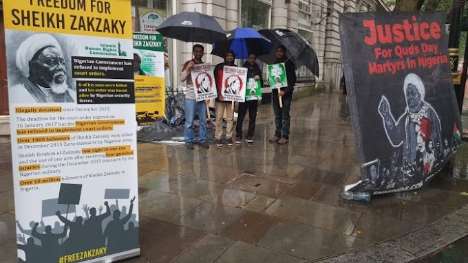 Event Report: Sit-in outside the Nigeria High Commission, London, UK