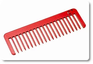 Use metal combs to prevent static