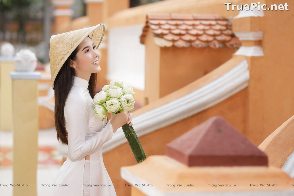 Image The Beauty of Vietnamese Girls with Traditional Dress (Ao Dai) #2 - TruePic.net - Picture-1