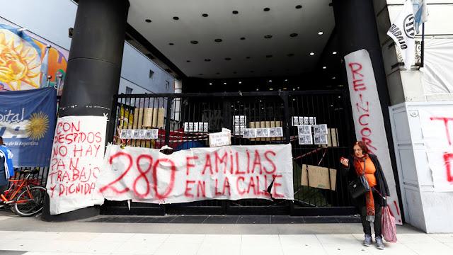 El desempleo en Argentina aumentó a 10,6 % en el segundo trimestre de 2019