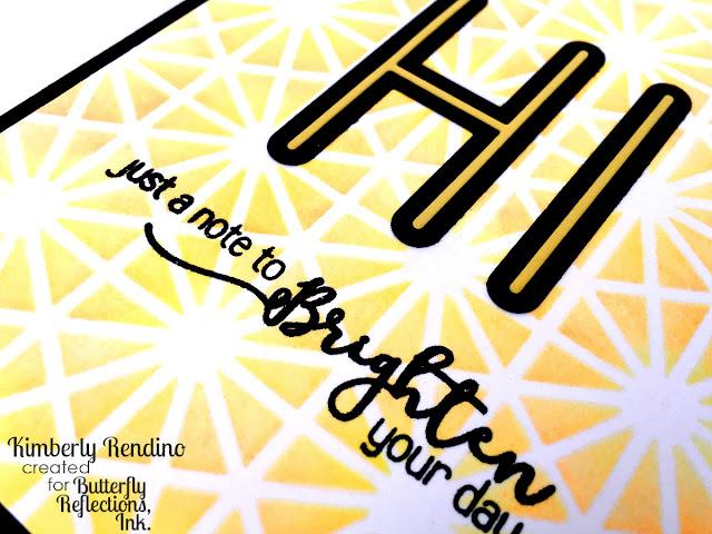 handmade card | papercraft | cardmaking | kimpletekreativity.blogspot.com | just a note | clear stamps