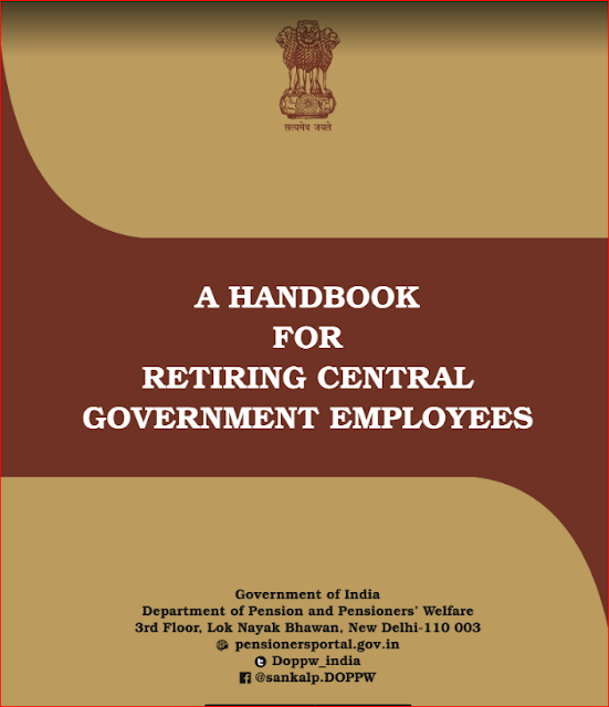 A Handbook for Retiring Central Government Employees.