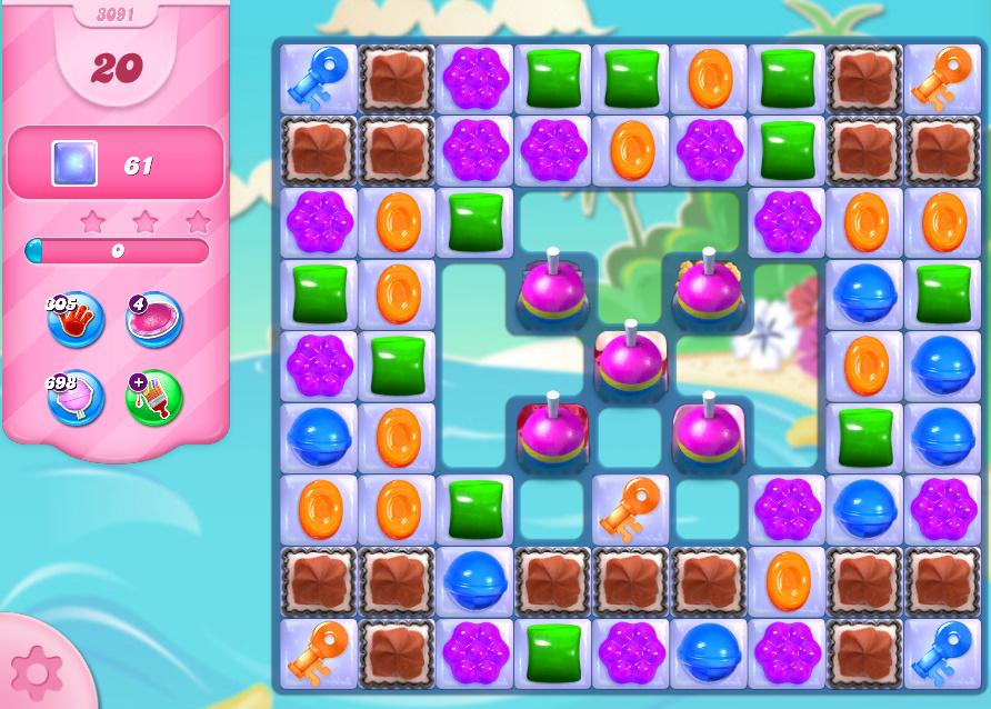 Candy Crush Saga level 3091
