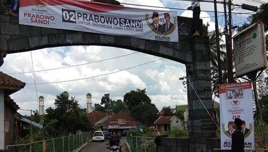 Setelah Deklarasi Jokowi, Ponpes di Tasikmalaya Beralih ke Prabowo